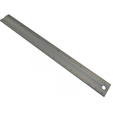 KMITEX 1009.1 Měřítko hliníkové s úkosem 1000x50x5 ČSN251112(0430038)