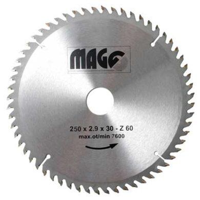 MAGG 9325060 Pilový kotouč HOBBY SK 250x2,9x30 60z(7792044)