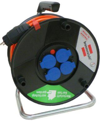 LOBSTER 101187 Kabel 25m na cívce 4zásuvky GUMA PI44 3G1,5mm Brennenstuhl(7855394)