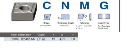 LAMINA Destička CNMG 120408 NN LT 10(7860509)