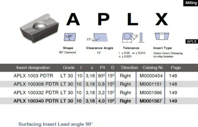 LAMINA Destička APLX 100332 PDTR LT 30(7869119)