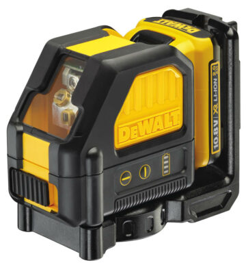 DEWALT DCE088D1R-QW Aku laser křížový 10,8V 1x2,0Ah červený paprsek(7899735)