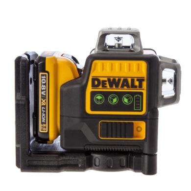 DEWALT DCE0811D1G-QW Aku laser linkový 10,8V 1x2,0Ah 2x zelený paprsek          (7899743)