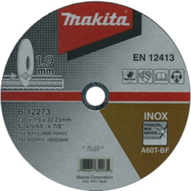 MAKITA B-12273 Kotouč řezný nerez 230x1,9x22 A60T-BF(7903502)