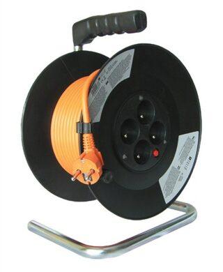 MAGG PB09 Kabel 20m na cívce 4x zásuvka 3x1,5mm(7912033)