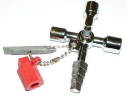 Klíč k rozvaděči kombi křížový