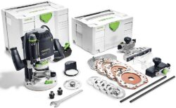 FESTOOL 574392 OF 2200 EB SET Frézka horní 2200W - Horní frézka OF 2200 EB-Set