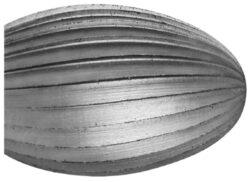 Fréza technická HSS 103/10 ČSN229310-Technická fréza rašplovací s vnitřním závitem HSS, 229310, 103/10