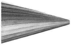 Fréza technická HSS 104/11 ČSN229310 DOPRODEJ-Technická fréza rašplovací s vnitřním závitem HSS, 229310, 104/11