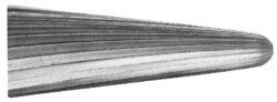 Fréza technická HSS 105/10 ČSN229310-Technická fréza rašplovací s vnitřním závitem HSS, 229310, 105/10