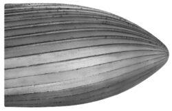 Fréza technická HSS 106/10 ČSN229310-Technická fréza rašplovací s vnitřním závitem HSS, 229310, 106/10