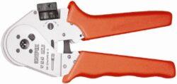 Kleště lisovací čtyřhroté KNIPEX 97 52 63-Čtyřtrnové lisovací kleště pro soustružené kontakty 180mm, Knipex