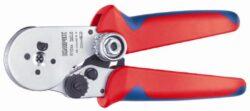 Kleště lisovací čtyřhroté KNIPEX 97 52 64-Čtyřtrnové lisovací kleště pro soustružené kontakty 180mm, Knipex