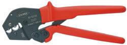 Kleště lisovací pákové KNIPEX 97 52 23-Pákové lisovací kleště pro neizolovaná kabelová oka + konektory, 250mm, Knipex