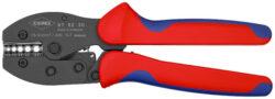 Kleště lisovací pákové PreciForce KNIPEX 97 52 30-Lisovací kleště na Neizolované kabelové spojky, 220mm, Knipex