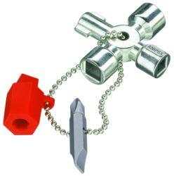 Klíč na rozvodné skříně KNIPEX 00 11 02-Univerzální křížový klíč na rozvodné skříně