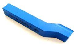 Nůž soustružnický ubírací stranový P 20X20X125 ČSN223524 DOPRODEJ-Soustružnický nůž z rychlořezné oceli ubírací stranový, 223524, 20x20x125 mm