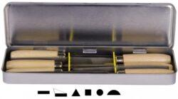 AJAX 286202911025 Sada pilníků klíčových 100/2K-Sada pilníků klíčových v dóze
