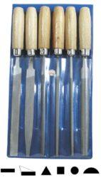 AJAX 286202921025 Sada pilníků klíčových 100/2P-Sada pilníků klíčových v plastovém obalu