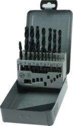 NAREX 00617170 Sada vrtáků HSS 19dílná-sada vrtáků do kovu v kovové kazetě  1 - 10 mm po 0,5 mm