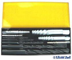 Sada vytahovačů zalomených šroubů s vrtáky č1-5 M3-18 STIMZET 238980.1