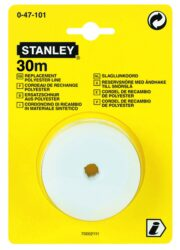 STANLEY 0-47-101 Lajnovací šňůra náhradní 30m-Šňůra lajnovací - brnkačka 30m, náhradní šňůra