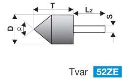 Brusné tělísko 16X40-6 (436535) 98A80O6V40 TYROLIT 32861-1657.0015(0325586)