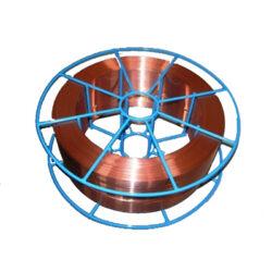 MAGG 10605 Drát svářecí CO2 0,6/ 5kg SG2 MIG ocel-drát 0,6mm 5kg v cívce