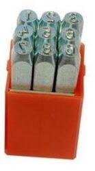 Raznice sada čísla 6mm levý ostrý profil PRAMARK 166260