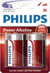 Baterie POWERLIFE mono big LR20/2 blistr PHILIPS 100030.01