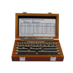 KMITEX 1046-1 Měrky základní ocelové 47ks DIN861/1 ČSN253310-Základní měrky DIN 861/1