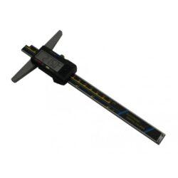 KMITEX 2048 Hloubkoměr digitální bez nosu ČSN251284 DIN862 200mm-Hloubkoměr digitální bez nosu ČSN251284 DIN862 200mm KINEX 2048