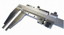 KMITEX 6016.2.150 Posuvné měřítko se šroubkem 800/150 0.02mm ČSN251230 DIN862-Posuvné měřítko s jemným stavěním
