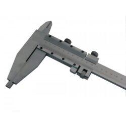 KMITEX 6023.2.200 Posuvné měřítko oboustranné 2000/200 0.05mm ČSN251234 DIN862-Posuvné měřítko oboustranné s jemným stavěním