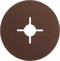 NAREX 65403802 Fíbrový brus 115mm P120 /00614387/-Fíbrový brusný kotouč 115mm na kov a dřevo, Narex