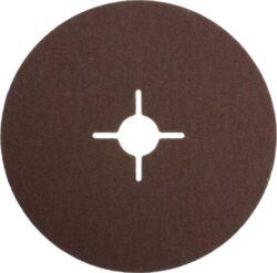 NAREX 65403810 Fíbrový brus 150mm P60 /00614395/-Fíbrový brusný kotouč 150mm na kov a dřevo, Narex