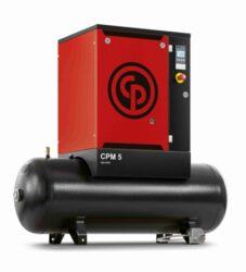 Chicago Pneumatic CPM 4 10 4 Kompresor šroubový 200L 400V 3000W 366/min 10bar-Kompresor šroubový 200L 400V 3000W 366/min 10bar