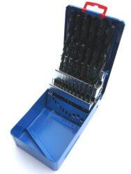 Sada vrtáků HSS 1-13mm 25-dílná STIMZET ČSN221121-Sada vrtáků, SADA, 1-13 mm, 25-DÍLNÁ /221121/