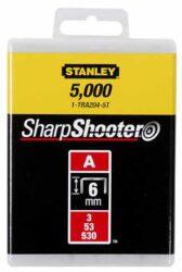 STANLEY 1-TRA205T Spony LD balení 1000ks 8mm typ-A-LD sponky typ A 5/53/530
