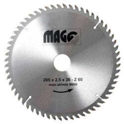 MAGG 9320560 Pilový kotouč HOBBY SK 205x2,5x30 60z-Pilový kotouč HOBBY SK 205x2,5x30 60z