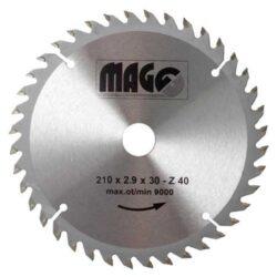 MAGG 9321040 Pilový kotouč HOBBY SK 210x2,9x30 40z-Pilový kotouč HOBBY SK 210x2,9x30 40z