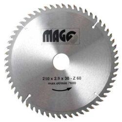 MAGG 9325060 Pilový kotouč HOBBY SK 250x2,9x30 60z-Pilový kotouč HOBBY SK 250x2,9x30 60z