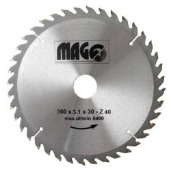 MAGG 9330040 Pilový kotouč HOBBY SK 300x3,1x30 40z- Pilový kotouč HOBBY SK 300x3,1x30 40z