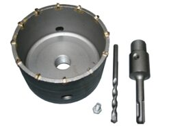 MAGG 27100100 Vrtací korunka D100mm L110mm SDS+-Příklepová vrtací korunka průměr 100mm se stopkou 110mm SDS+