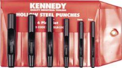 KENNEDY KEN-518-1600K Sada výsečníků 6dílná 5-12mm-Sada dutých děrovačů