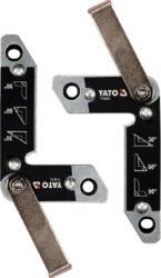 YATO YT-08723 Sada magnetických svářecích úhelníků (2ks) do 32kg-Sada magnetických svářecích úhelníků (2ks) do 32kg