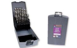 NAREX 00763360 Sada vrtáků do kovu vybrušovaných 25dílná-PVC pouzdro s vrtáky CZ002, 25dílů  1, 1.5, 2, 2.5, 3, 3.5, 4, 4.5, 5, 5.5, 6, 6.5, 7, 7.5, 8, 8.5, 9, 9.5, 10, 10.5, 11, 11.5, 12, 12.5, 13mm
