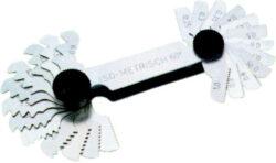 MITAKO 106007 Měrka závitová 0,25-6mm whitworth a metrická