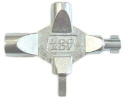 LIDOKOV 01.034 Klíč LK4 k rozvaděči víceúčelový kříž