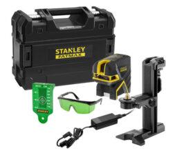 STANLEY FMHT77597-1 Laser křížový + 2bodový zelený Li-Ion baterie FatMax-Laser křížový + 2bodový zelený Li-Ion baterie FatMax